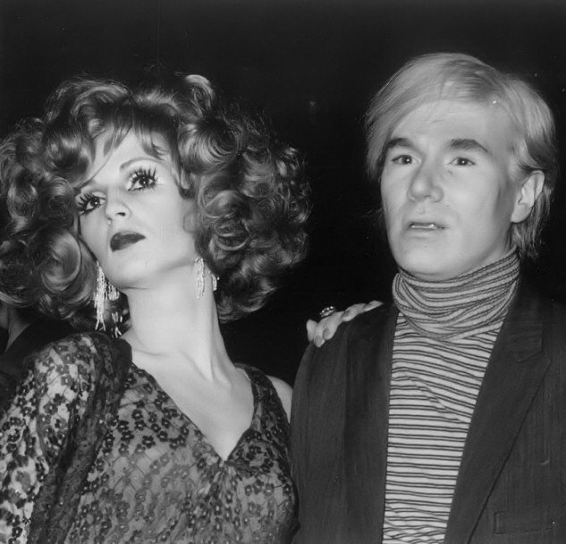 Candy Darling and Andy Warhol, photograph