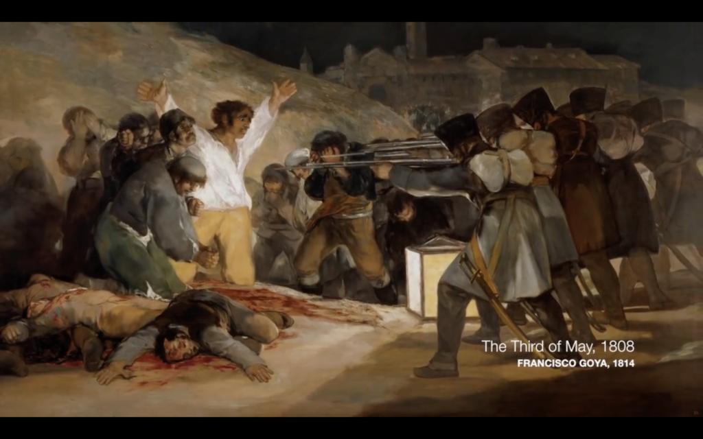 Goya's The Third of May nerdwriter