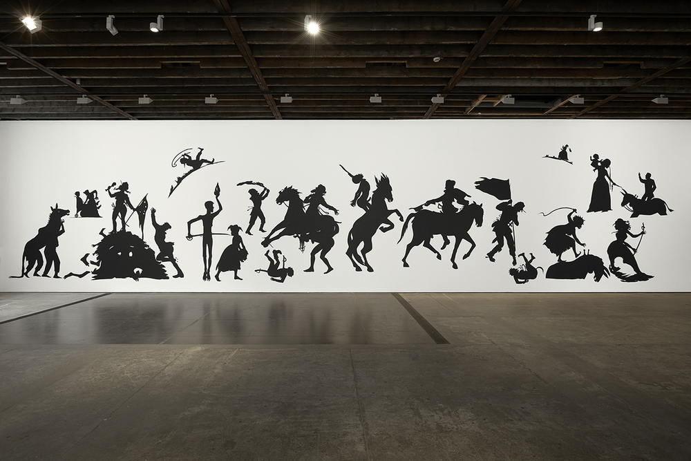 Kara Walkers, Go to hell or atlanta, whichever comes first; black artists