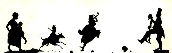 Kara Walker, The Means to an End: A Shadow Drama in Five Acts