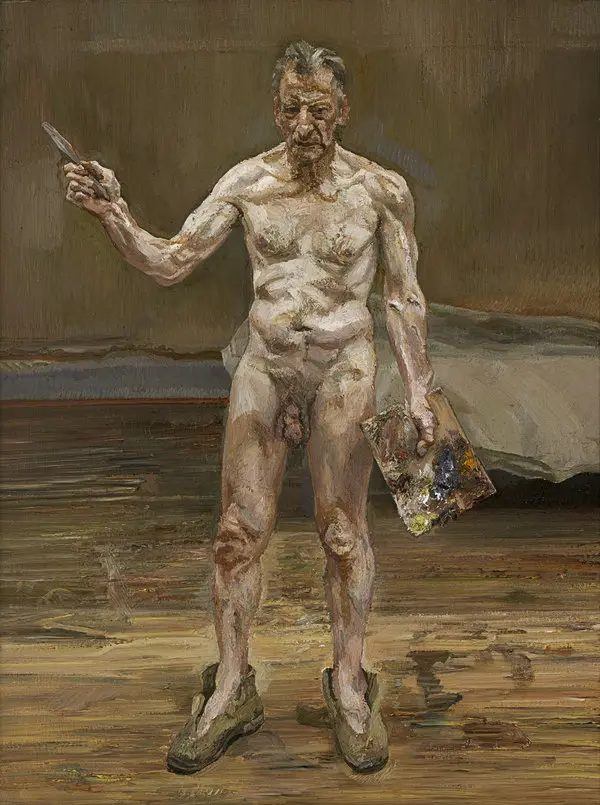 Lucian Freud, Painter Working, Reflection,