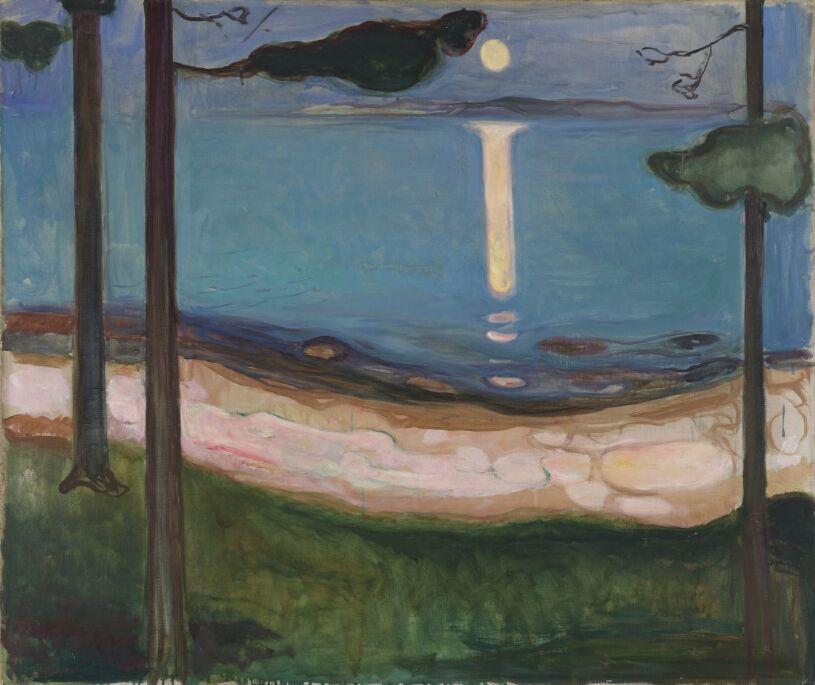 Munch Moonlight 1895