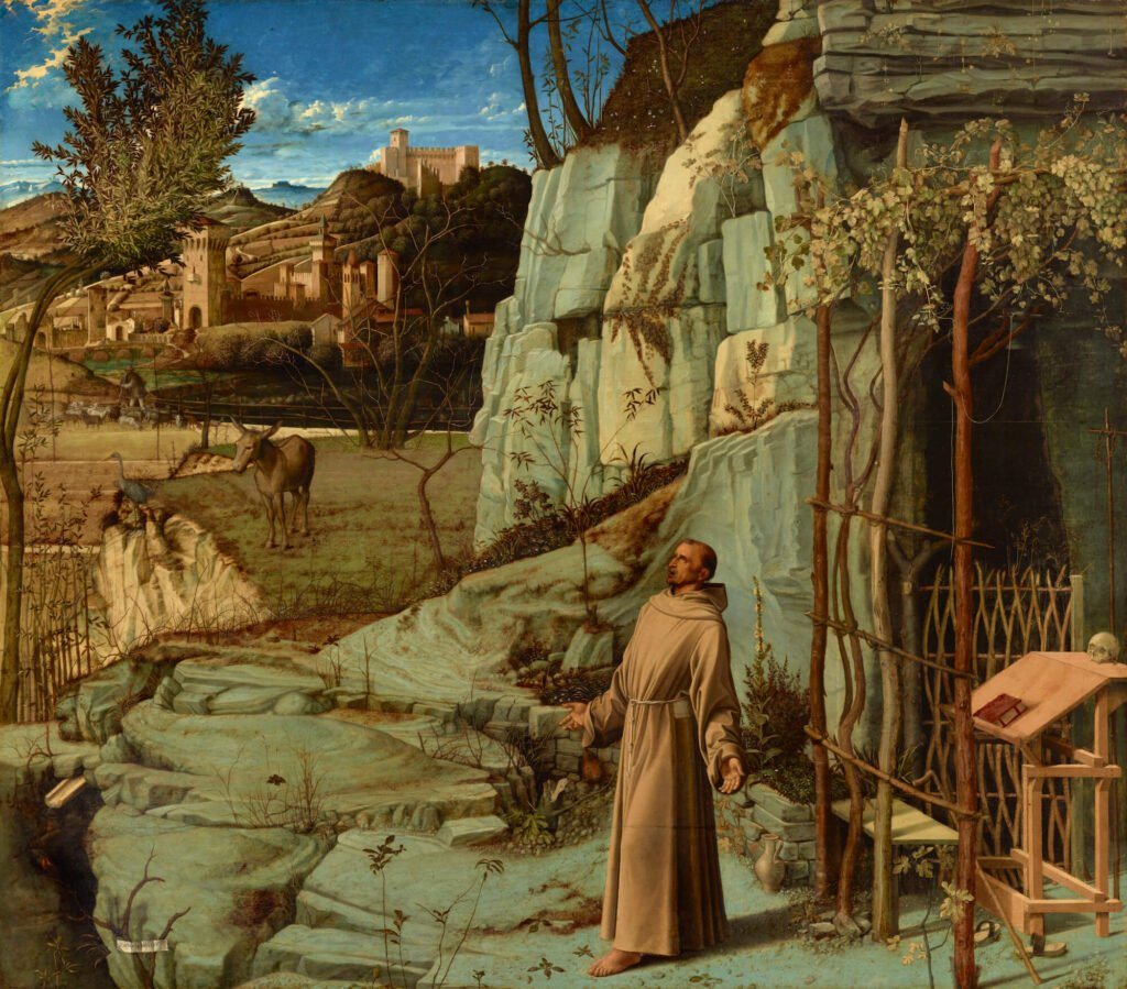 St. Francis in the Desert by Giovanni Bellini