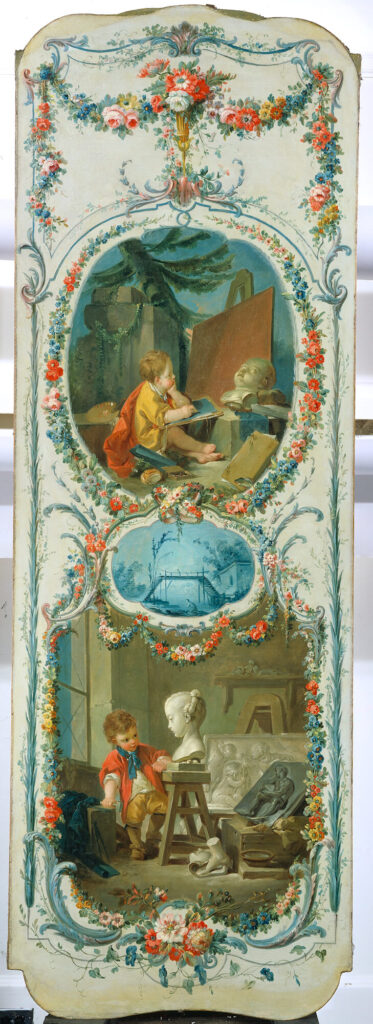 The Arts and Sciences: Painting and Sculpture by Francois Boucher