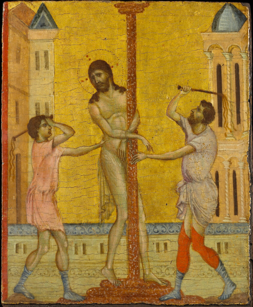 The Flagellation of Christ by Cimabue