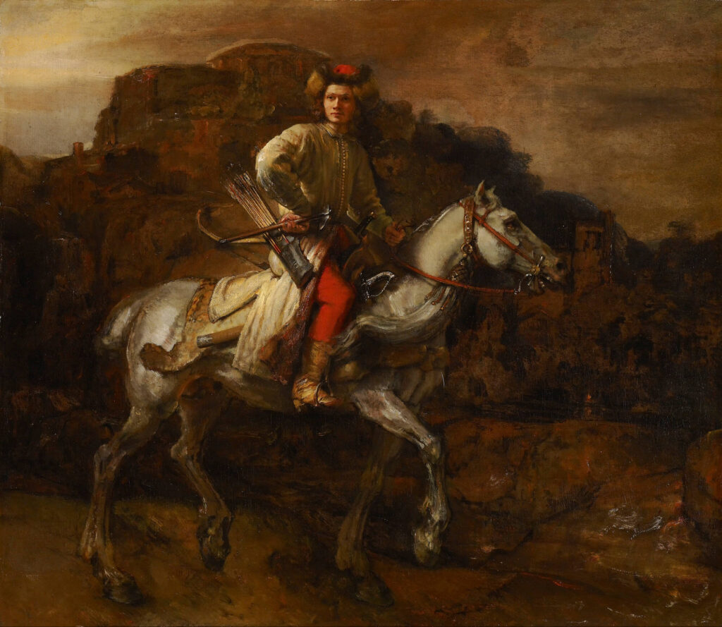 The Polish Rider by Rembrandt Frick Collection masterpieces