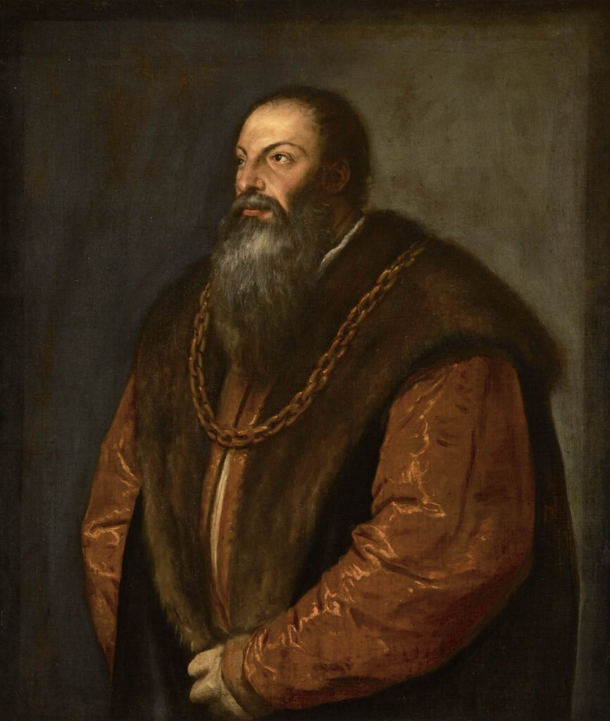 Titian, Pietro Aretino, ca. 1537, The Frick Collection