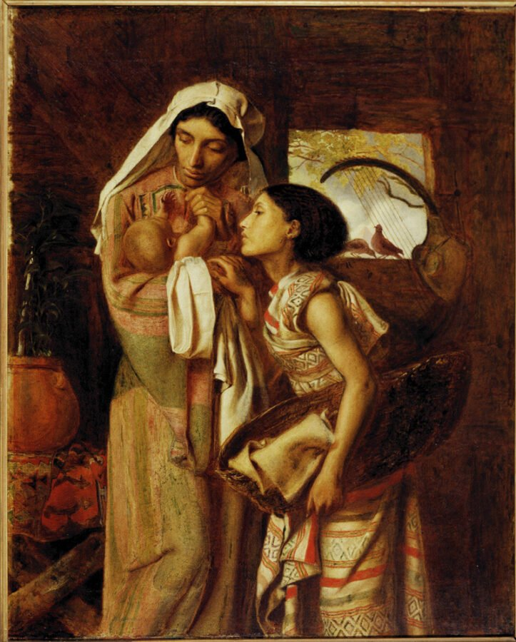 Five artist models you should know about: Simeon Solomon, The Mother of Moses,