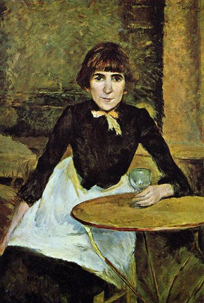 Henri de Toulouse-Lautrec, At the Bastille, Jeanne Wenz,