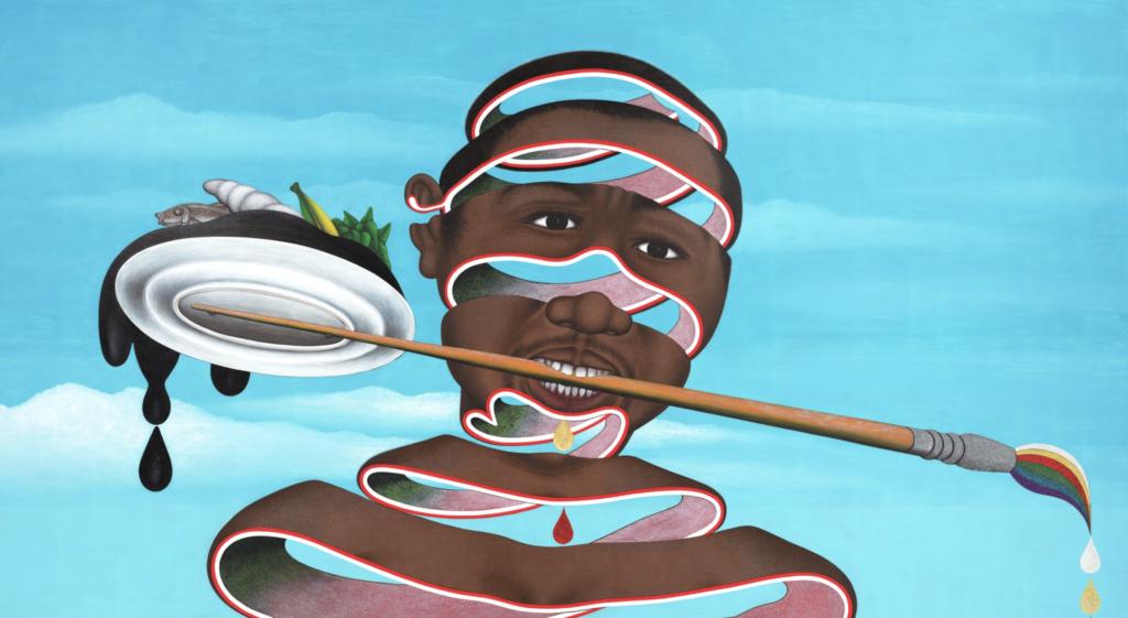 Cheri Samba, I love colour; black artists
