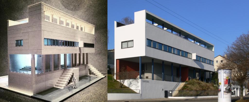 Lego Architecture: Weissenhof Estate, Le Corbusier, Pierre Jeanneret