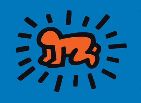 Keith Haring Pride: Keith Haring, Radiant Baby, Icons series