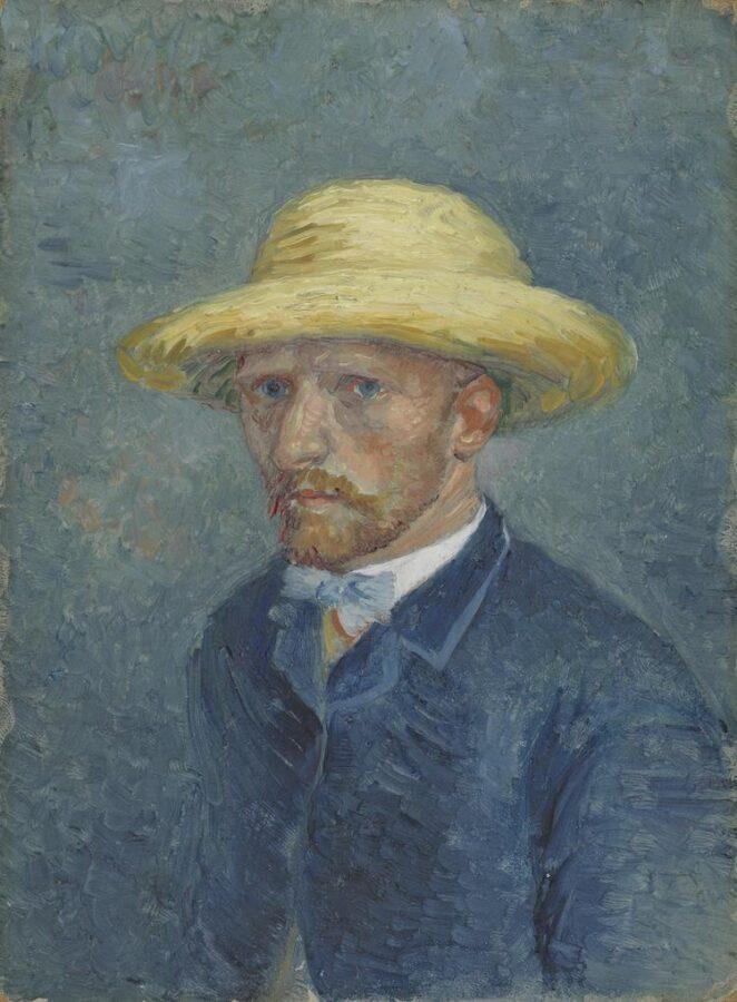 Vincent Van Gogh, Portrait of Theo Van Gogh