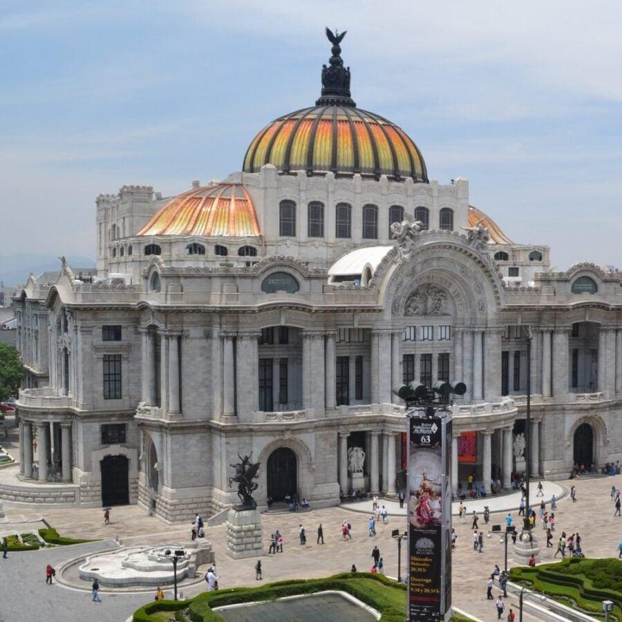 Fine Arts Palace Mexico City Art Nouveau Adamo Boari, Palacio de Bellas Artes, ca. 1904-1910, Mexico, Mexico