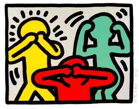 Keith Haring Pride: Keith Haring, Pop Shop III