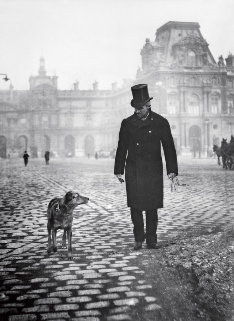 Gustave Caillebotte, a photo taken by his brother Martial Caillebotte.  Impressionists gossips