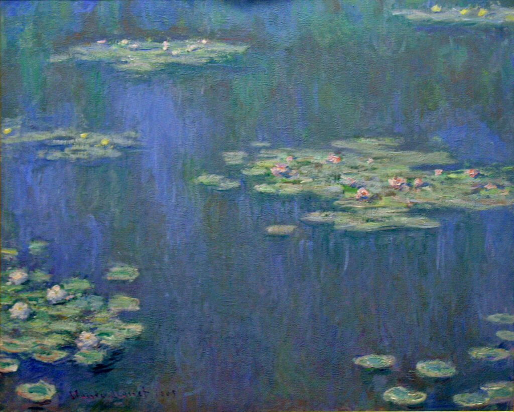 Davies Sisters collection: Claude Monet, Waterlilies