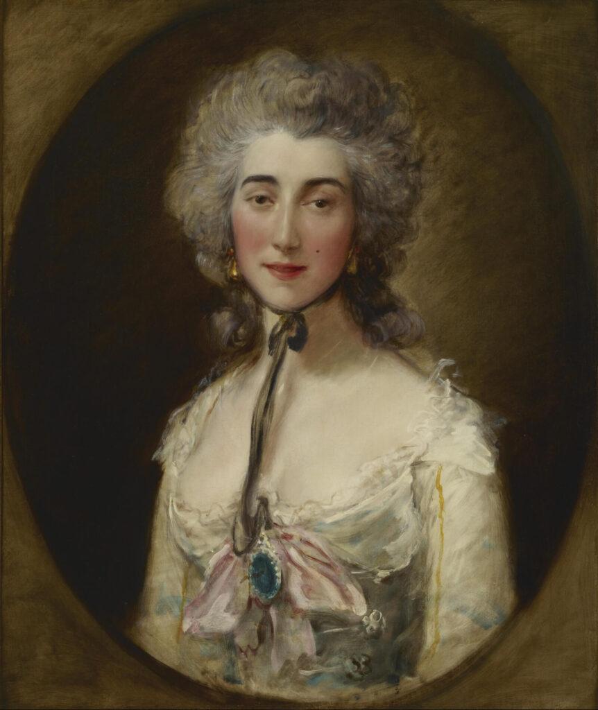 Thomas Gainsborough, Grace Dalrymple Elliott, ca. 1782, Frick Collection, New York City.