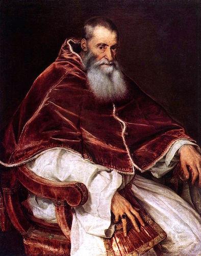 Titian, Pope Paul III, Museo di Capodimonte