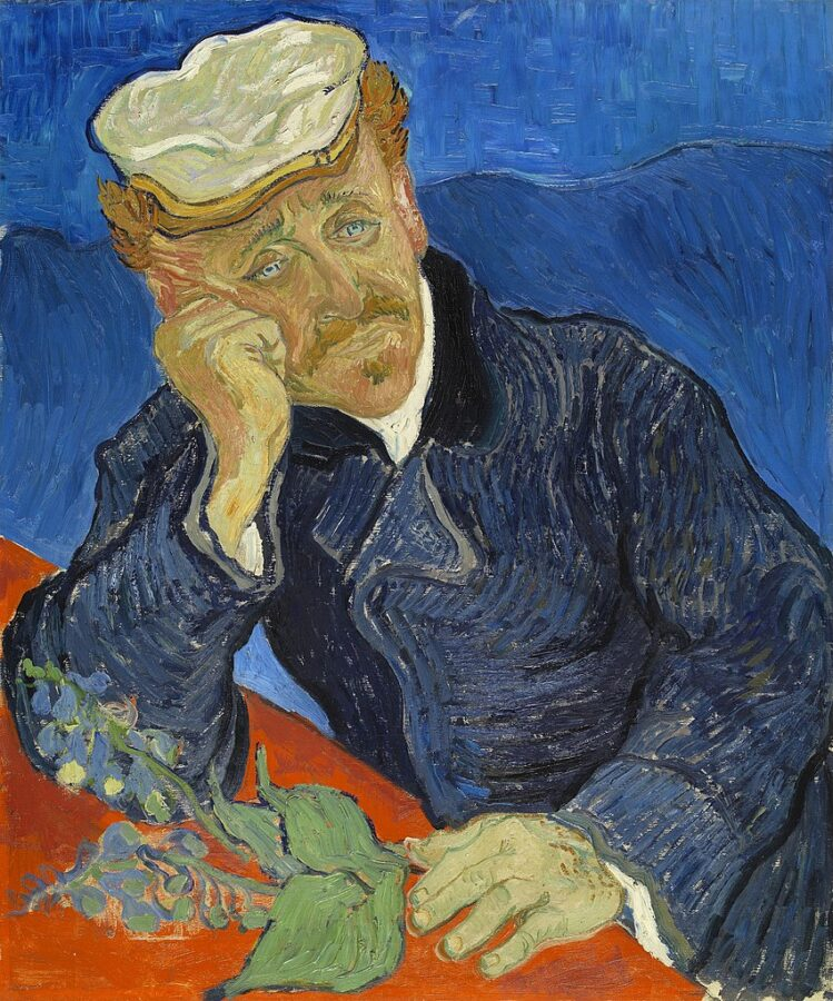Vincent Van Gogh, Portrait of Dr Gachet