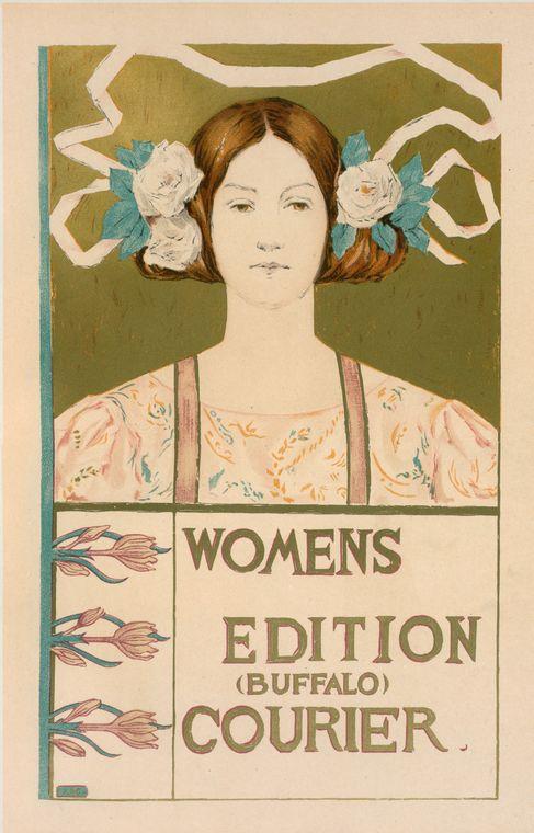 Art Nouveau female artists: Art Nouveau poster Alice Russel Glenny, Women's Edition