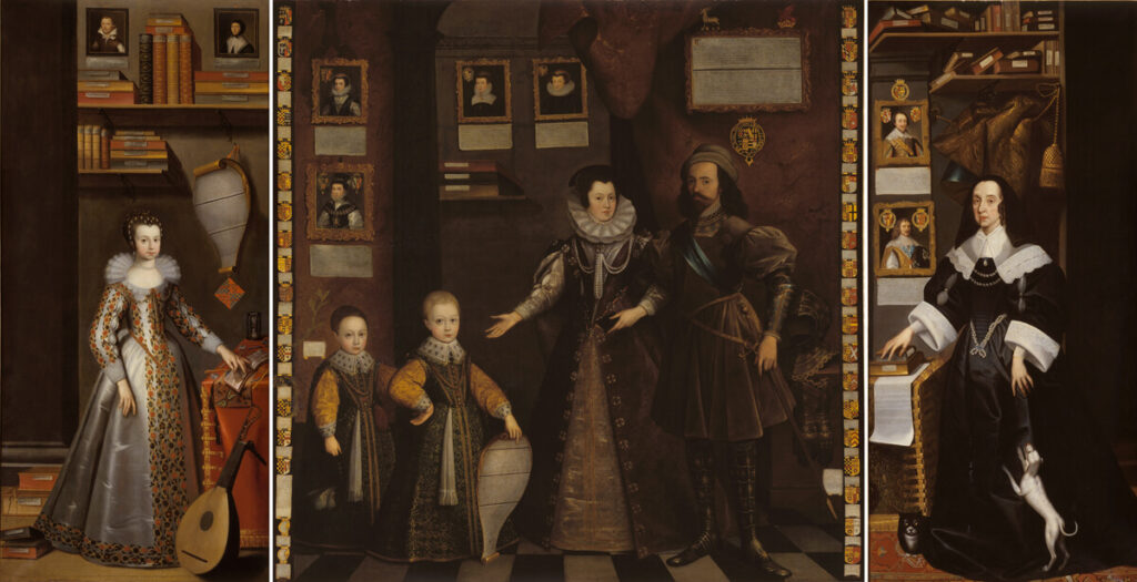 The Great Picture, Jan van Belcamp, Anne Clifford