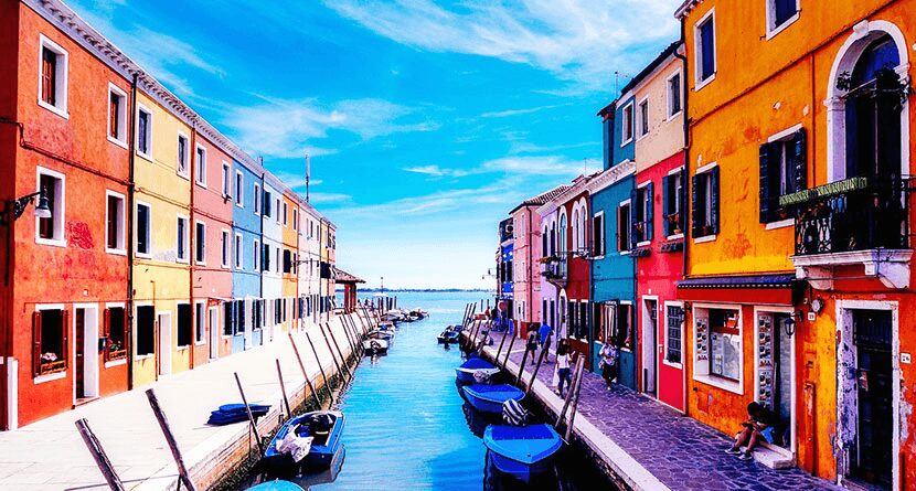 Most Colorful Cities in the World: Burano, Italy