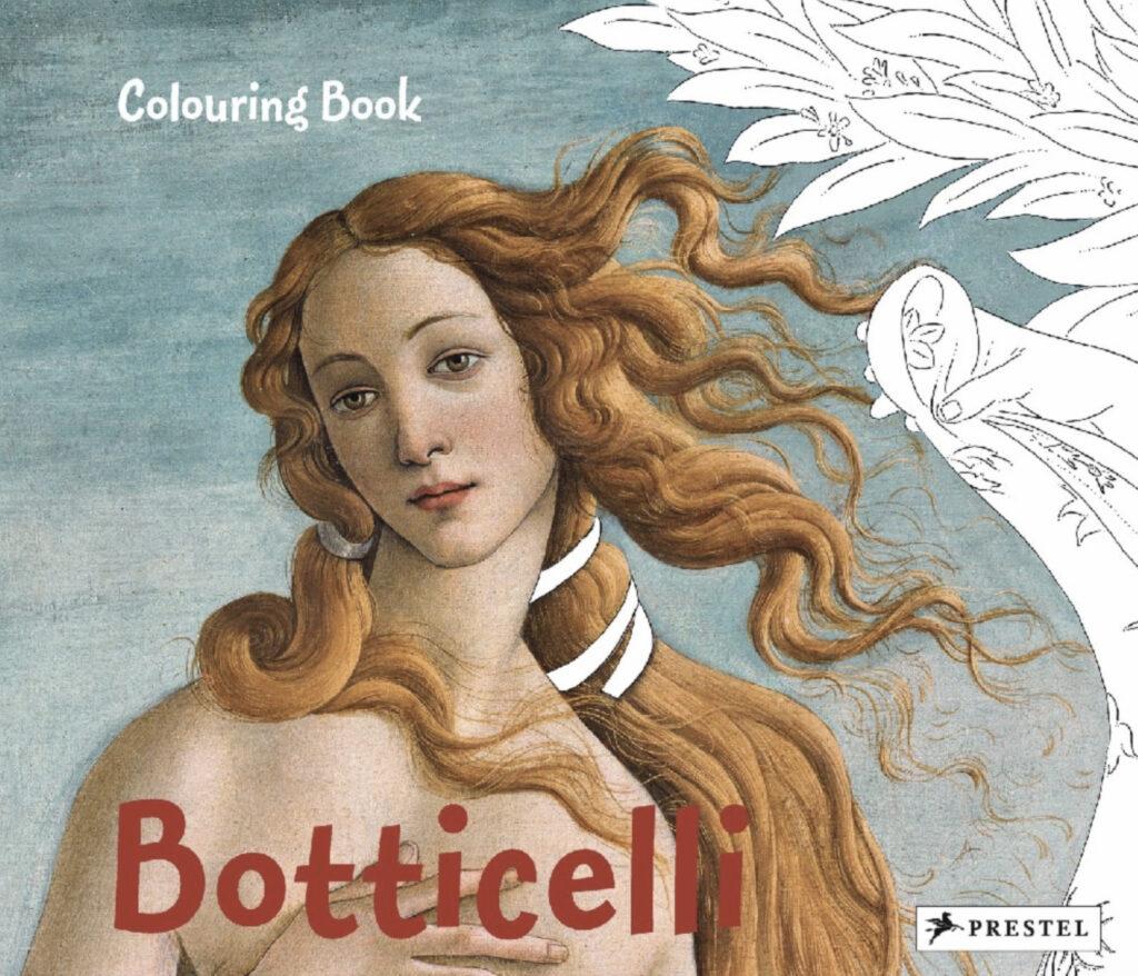 Boticelli Colouring Book