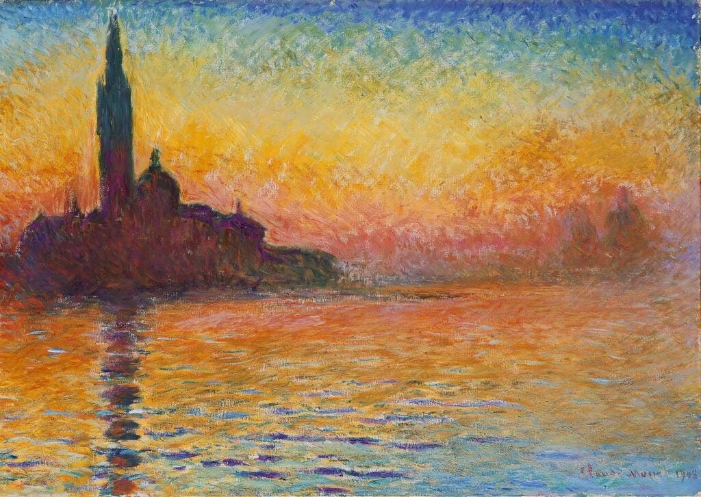 Davies Sisters collection: Claude Monet, San Georgio Maggiore at Dusk
