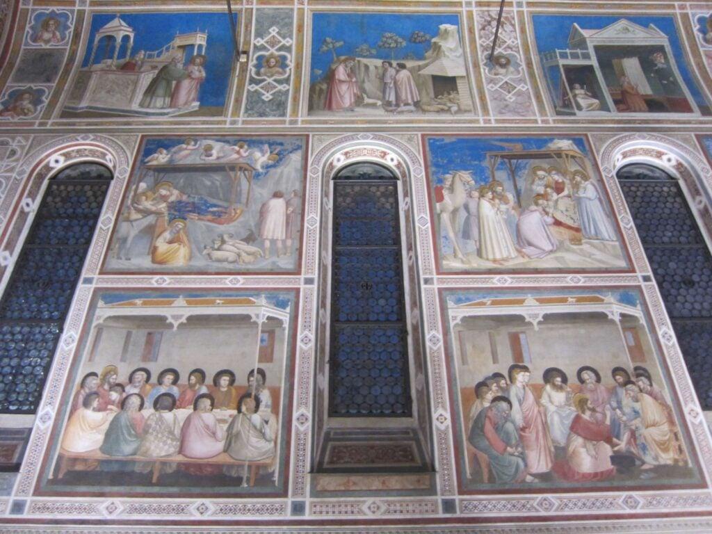 Giotto, Scrovegni Chapel fresco Italian Renaissance