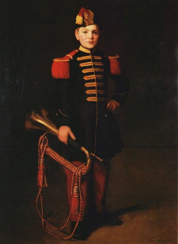 Gonzales, bugle boy, enfant de troupe