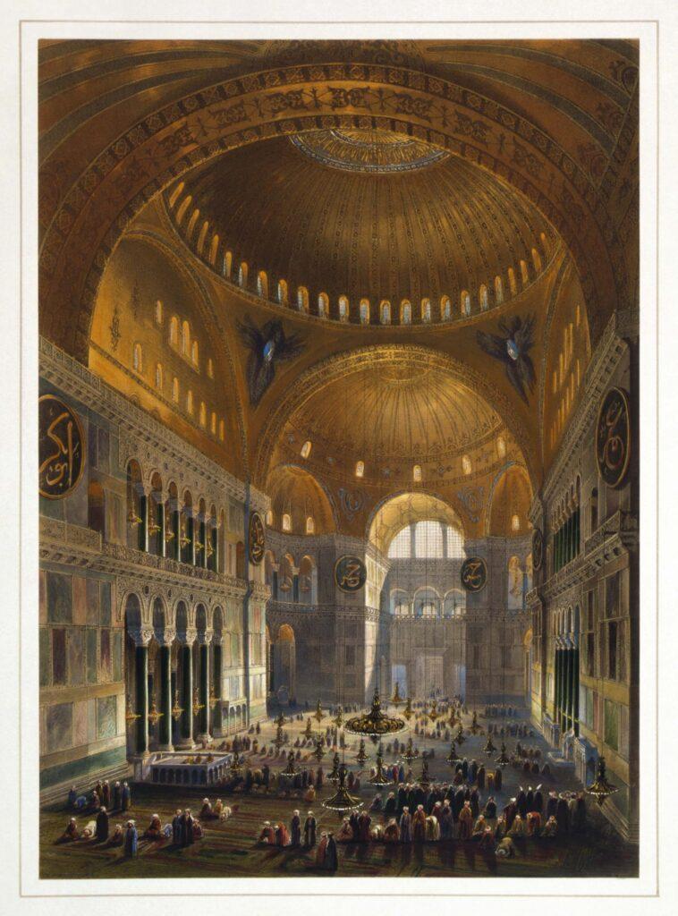 Gaspare_Fossati_-_Louis_Haghe Hagia Sophia