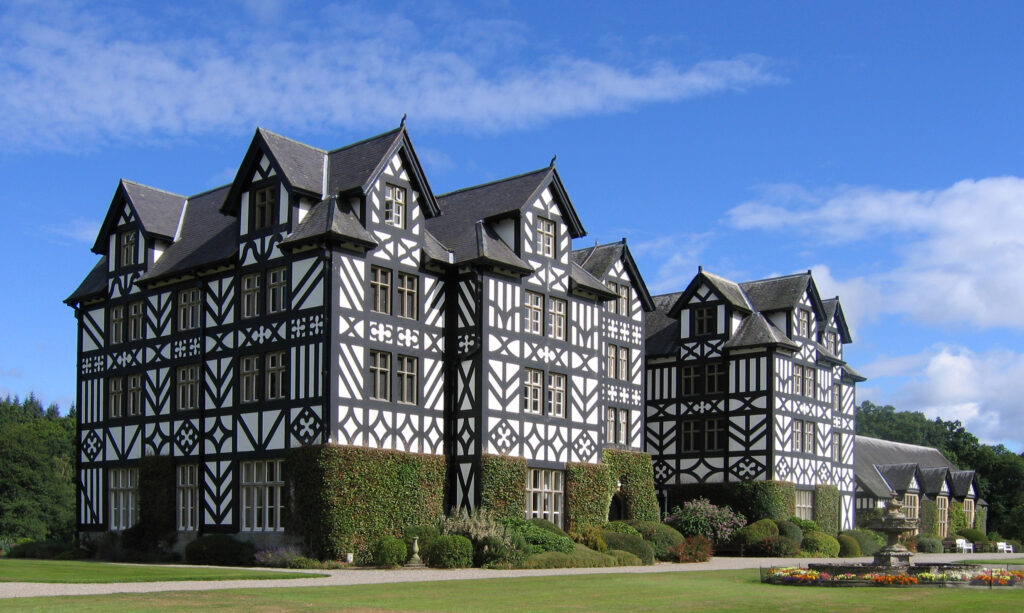 Davies Sisters collection: Gregynog Hall, Newtown, Wales