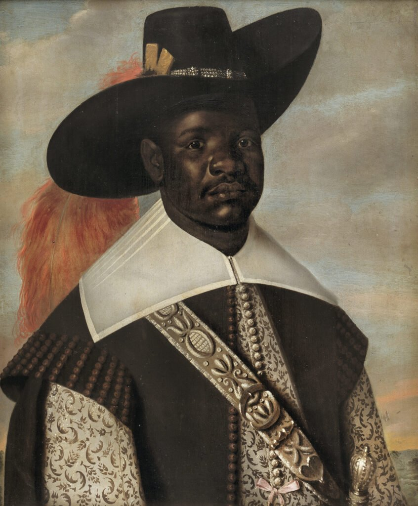 The Rembrandthuis exhibition 'Black in Rembrandt's Time': Jaspar Beckx (before 1627 - 1647), Don Miguel de Castro. Emissary of Kongo, c. 1643, Oil on panel, 75 x 62 cm, National Gallery of  Denmark, Copenhagen Rembrandthuis