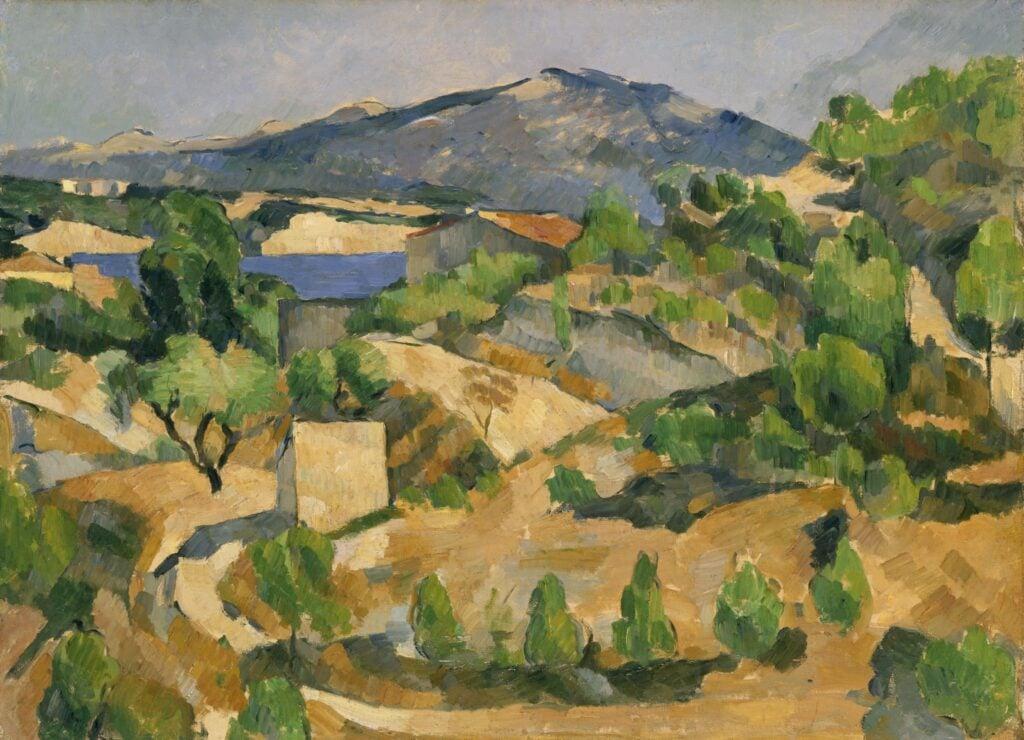 Davies Sisters collection: Paul Cezanne, The Francois Zola Dam