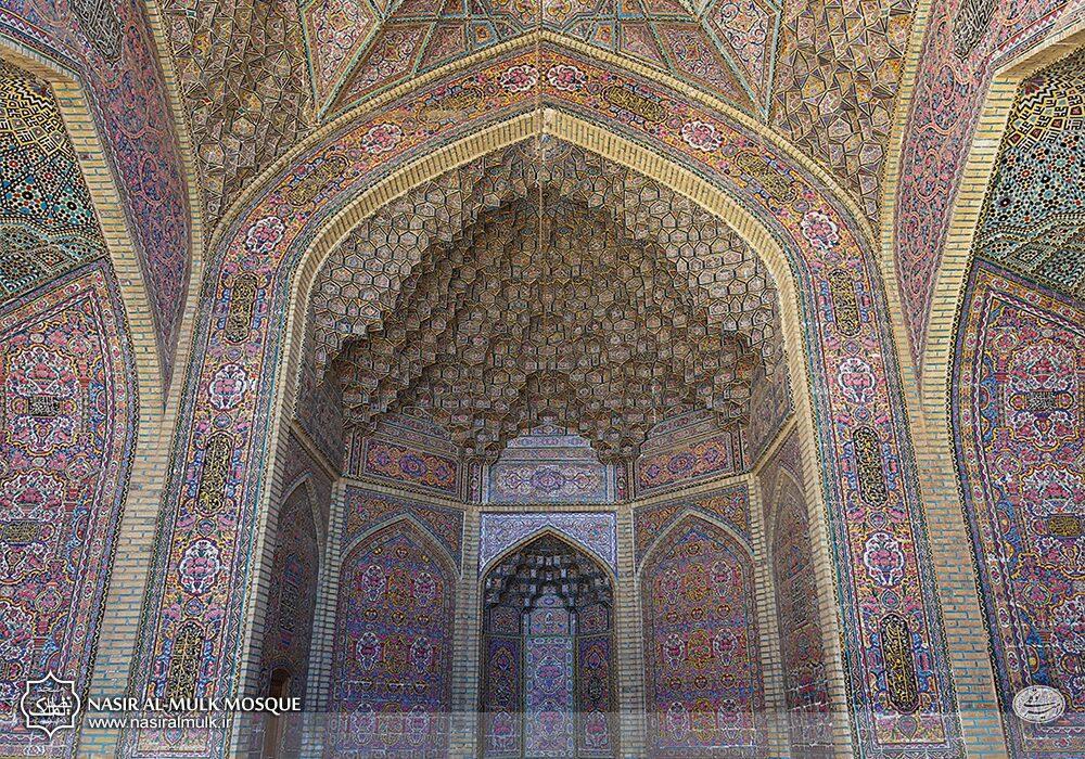 Nasir al-Mulk Mosque, Shiraz, Iran. Nasir Al-Mulk.
