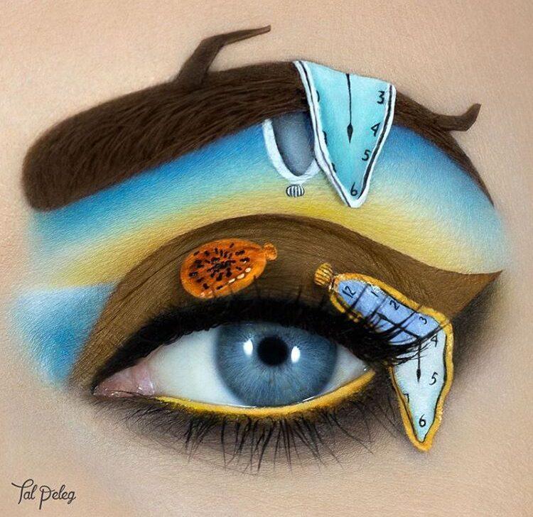 Eye makeup look by Tal Peleg. tal_peleg.