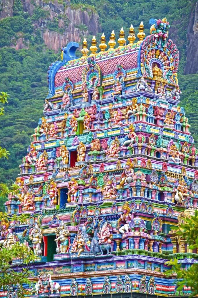 Meenakshi Temple, Madurai, Tamil Nadu, India. Architecturaldigest. Colorful temples.