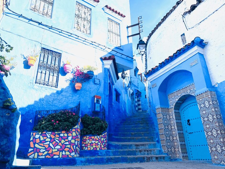 Most Colorful Cities in the World: Chefchaouen, Morocco