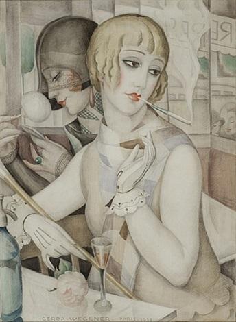 Gerda Wegener, The Aperitif, 1928