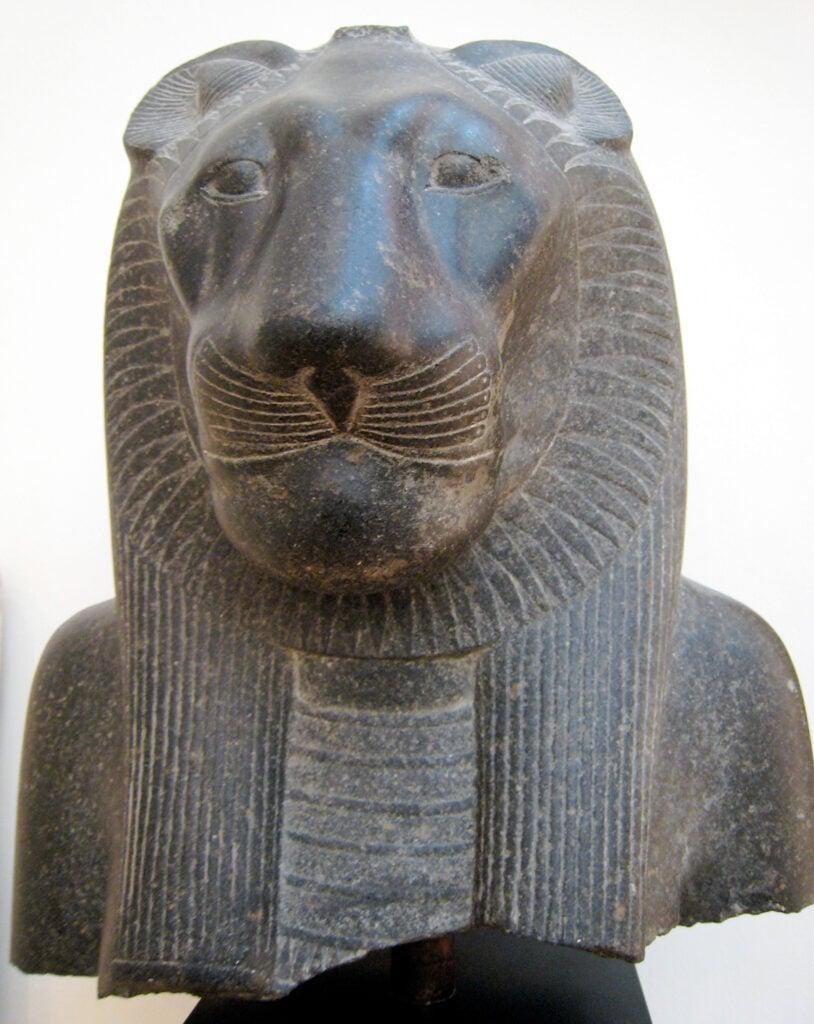 Granite statue of Sekhmet