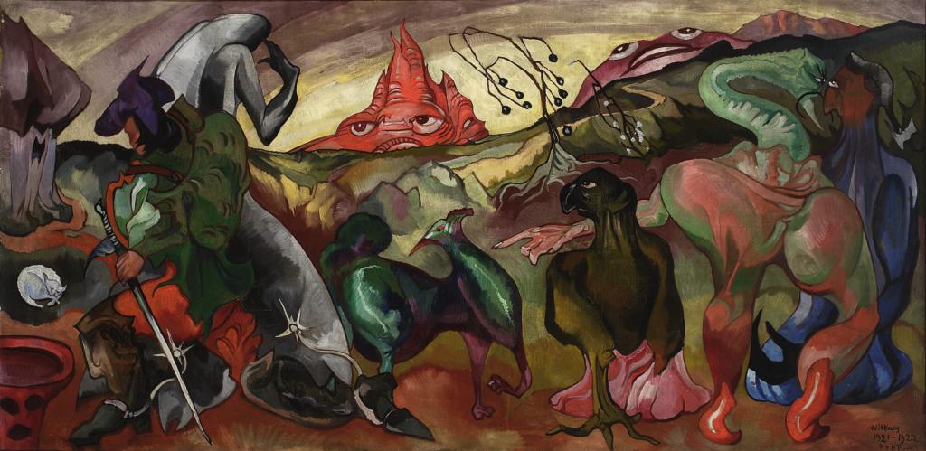 Stanisław Ignacy Witkiewicz (Witkacy), Fantasy - A Fairy Tale, 1922,