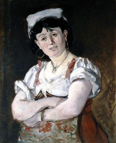 Édouard Manet, L'Italienne; Agostina Segatori