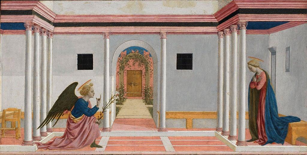 The Fitzwilliam Museum highlights: Domenico Veneziano, The Annunciation