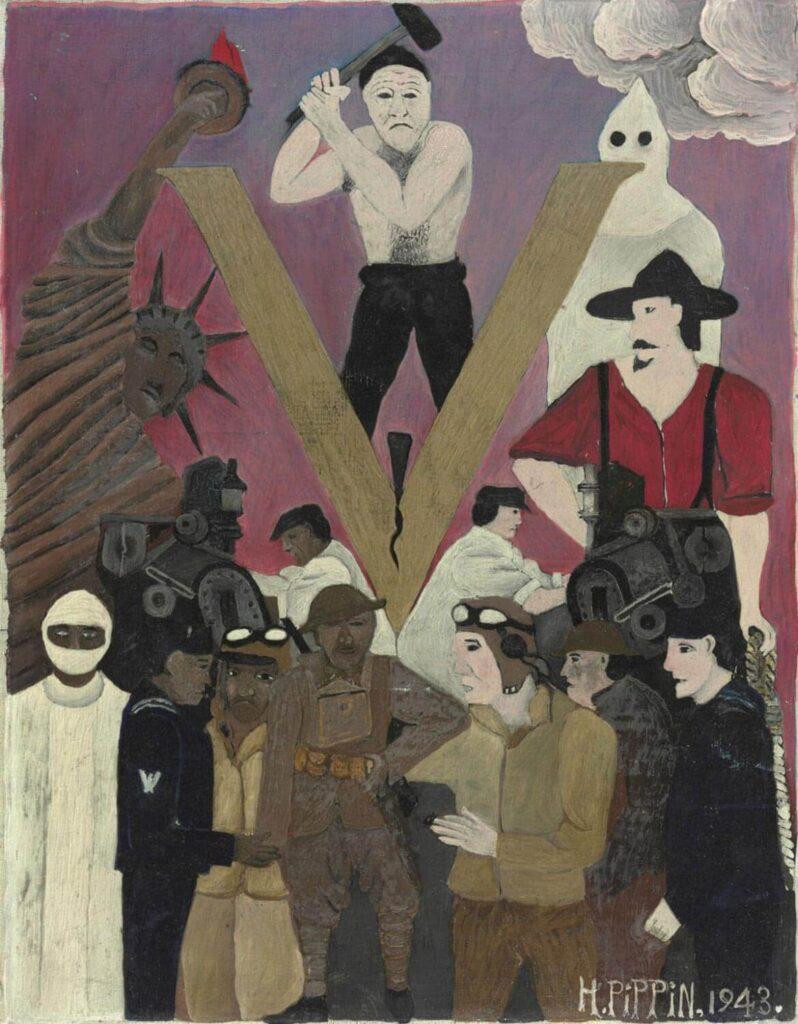 story of Horace Pippin Horace Pippin, Mr. Prejudice