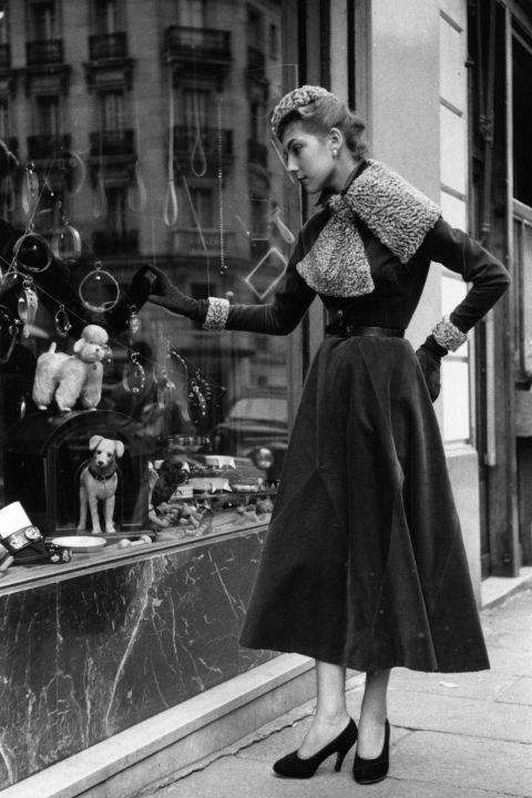 Elsa Schiaparelli dress, 1935-40.