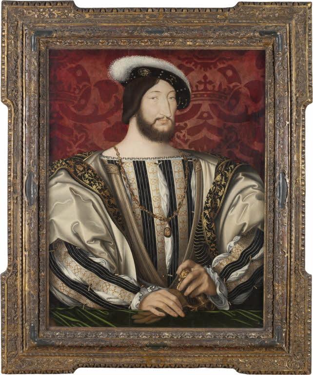 Jean Clouet, Portrait of Francis I