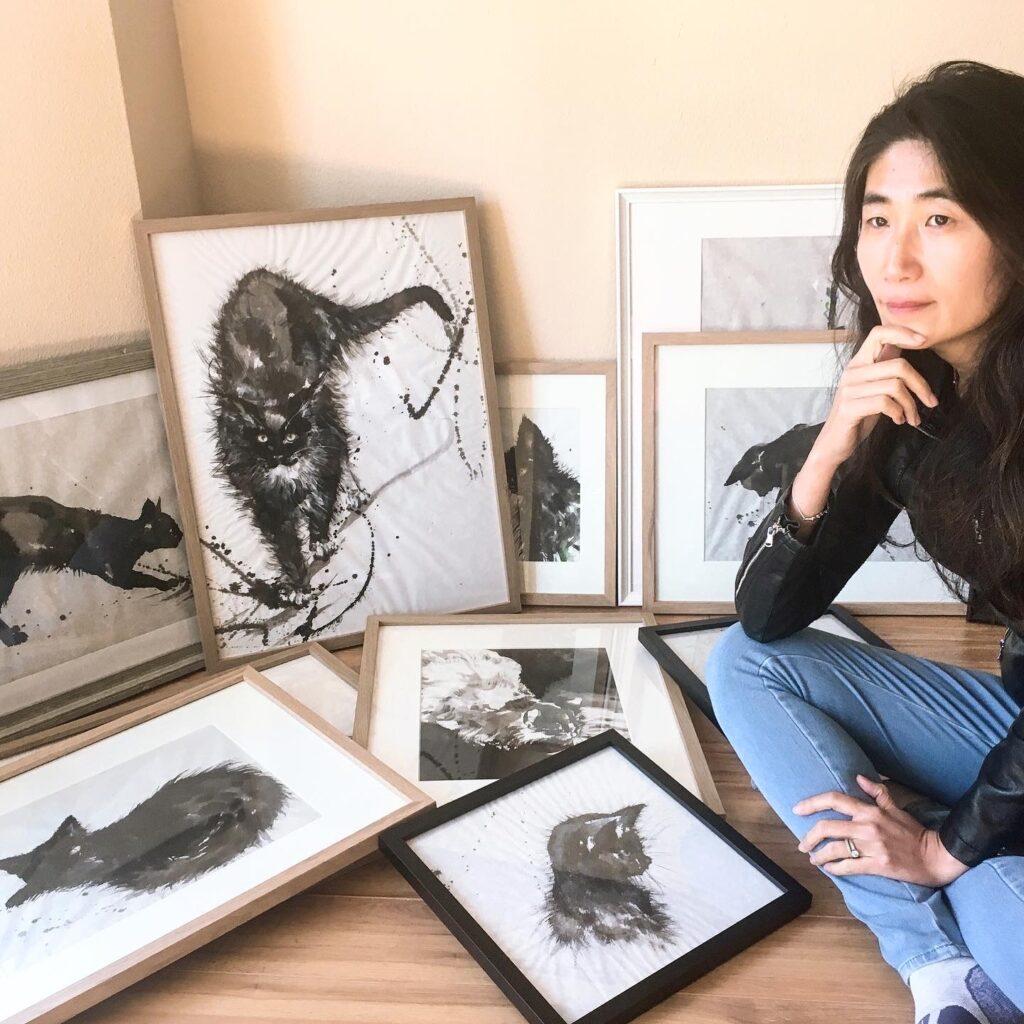 Anita Yan Wong, Self Portrait,