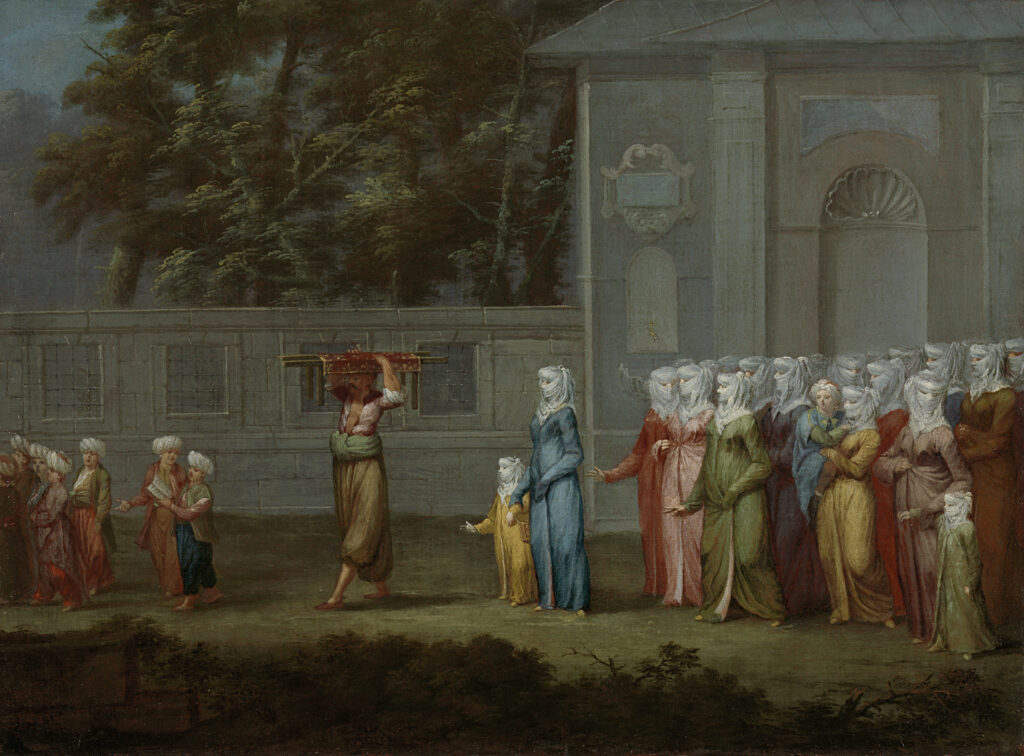 Jean Baptiste Vanmour, The First Day of School,