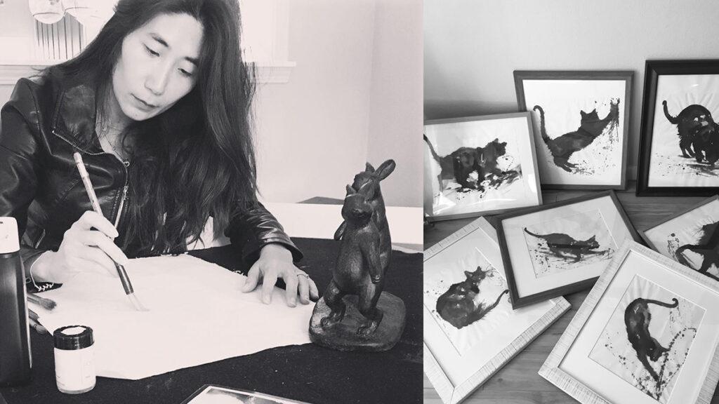 Anita Yan Wong, Self Portrait